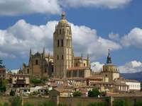 Cathedral in Segovia (Spain)