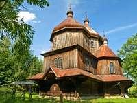 Orthodoxe kerk in Bystre (Polen)
