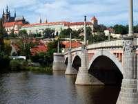 Castle in Hradčany in Prague (Czech Republic)