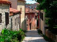 Street in Rovinj (Croatia)