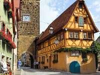 Centro di Rothenburg ob der Tauber (Germania)