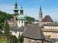 Панорама на Залцбург Център (Австрия)