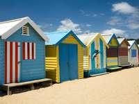 Brighton Beach a Melbourne (Australia)