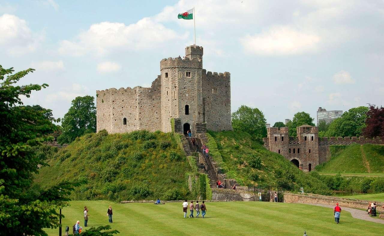 Castle in Cardiff (United Kingdom)