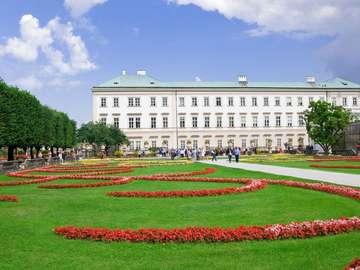 Mirabellgarten in Salzburg (Österreich)