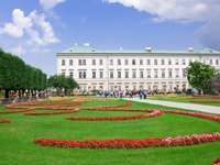 Mirabell Garden in Salzburg (Austria)