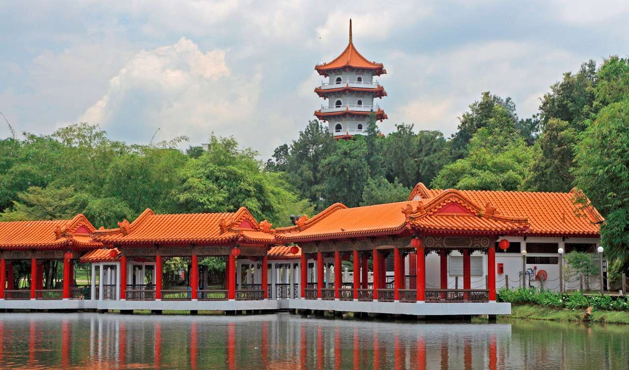 Chinese Garden in Singapore - Singapore is the city-state famous for dense buildings contrasted by lush greenery of numerous parks. Botanical gardens and numerous parks are the most frequently visited places in Singapore. The Chin (10×5)