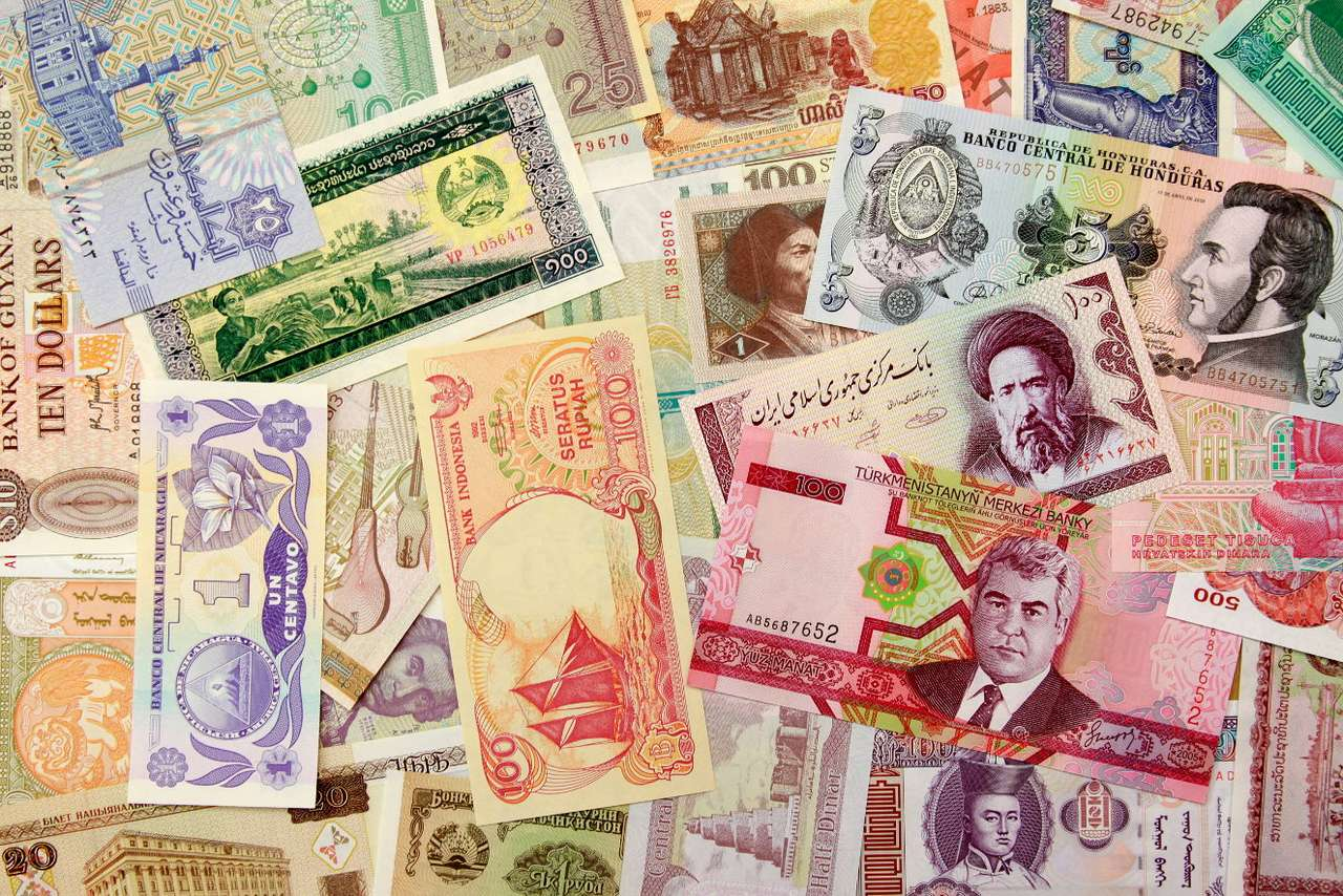 Money - Money can have various forms – paper (banknotes), coins and electronic one. Currencies of various countries have various names. For instance in Poland it is złoty, in the USA it is dollar, in Great (25×17)