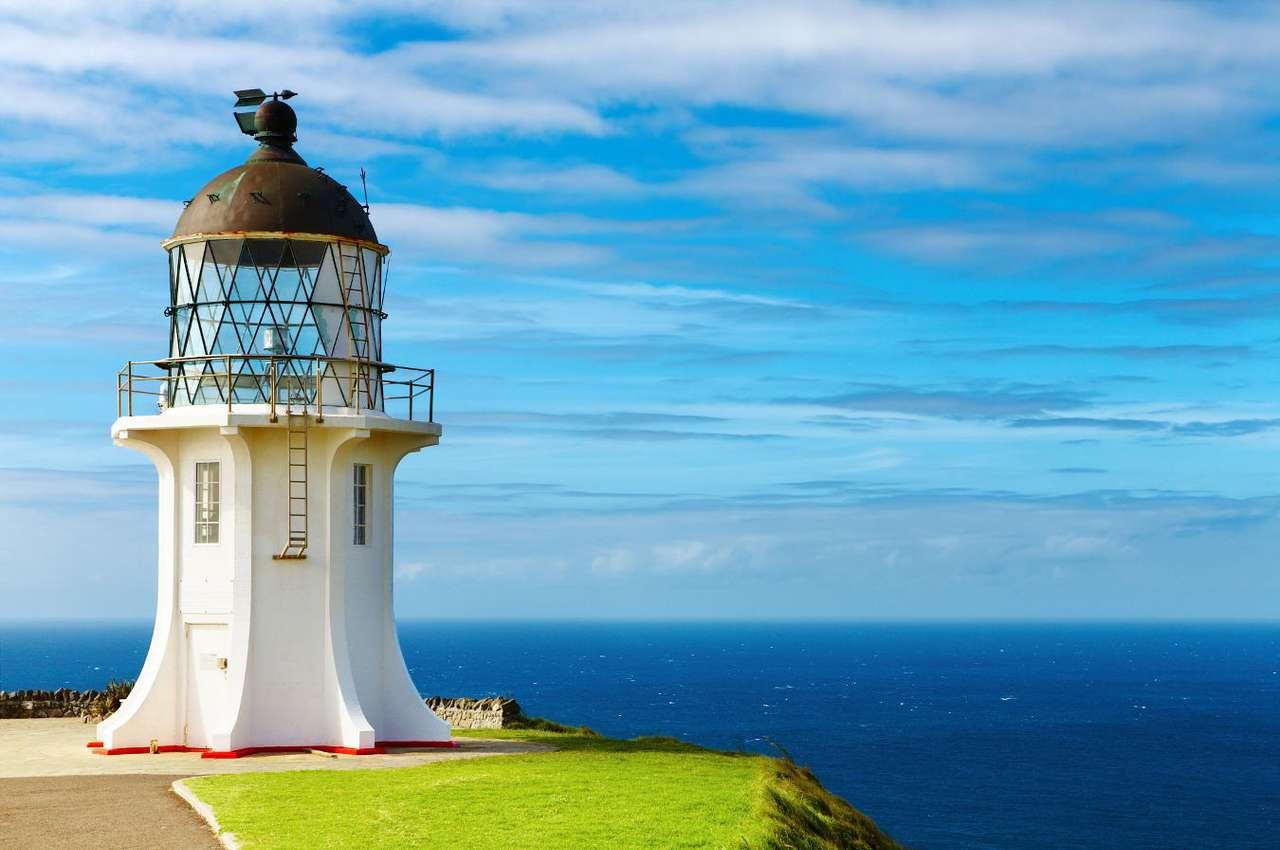 Фарът на нос Рейнга (Нова Зеландия)