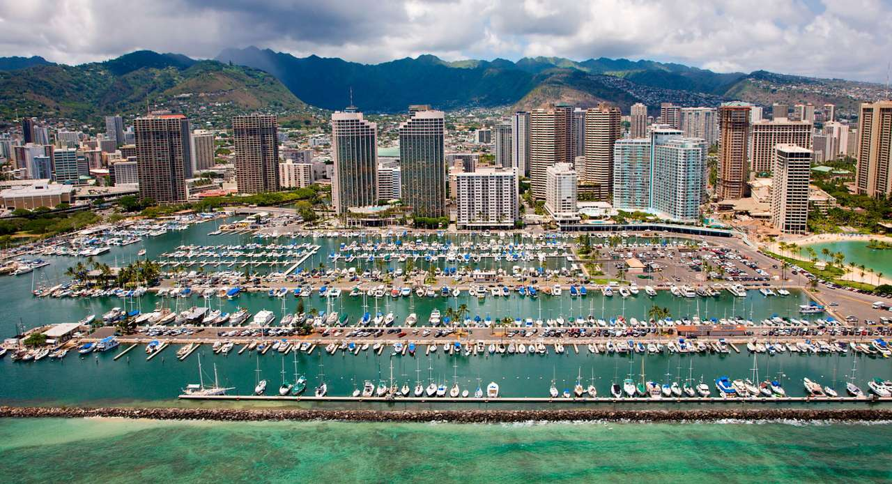 Marina în Honolulu (SUA)