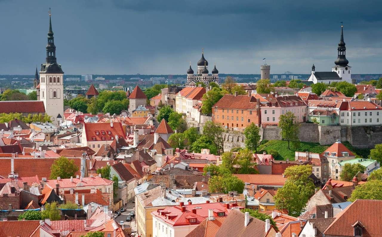 Old Town in Tallin (Estonia)
