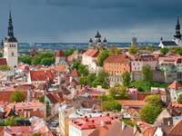 Old Town in Tallin (Estonia)