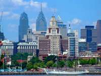 Mrakodrapy ve Filadelfii (USA)