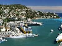 Port in Nice (France)