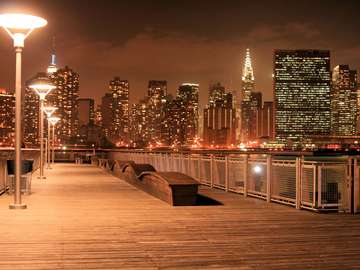 New York by night (USA)