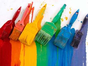 Rainbow colors