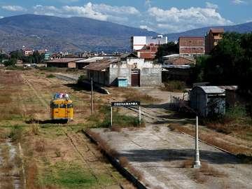 Cochabamba railway station (Bolivia)