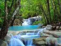 Erawan Waterfall (Thailand)