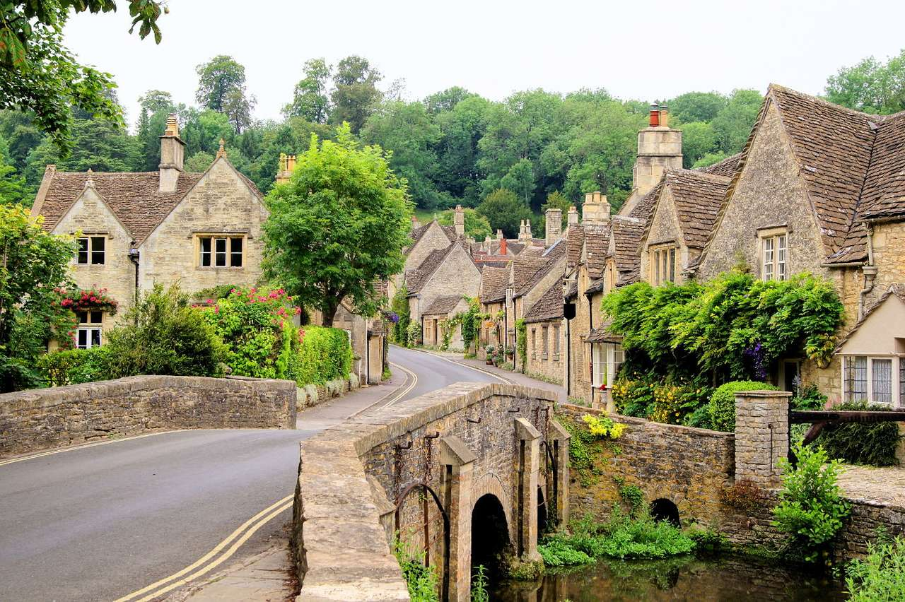 Village of Castle Combe (Royaume-Uni)