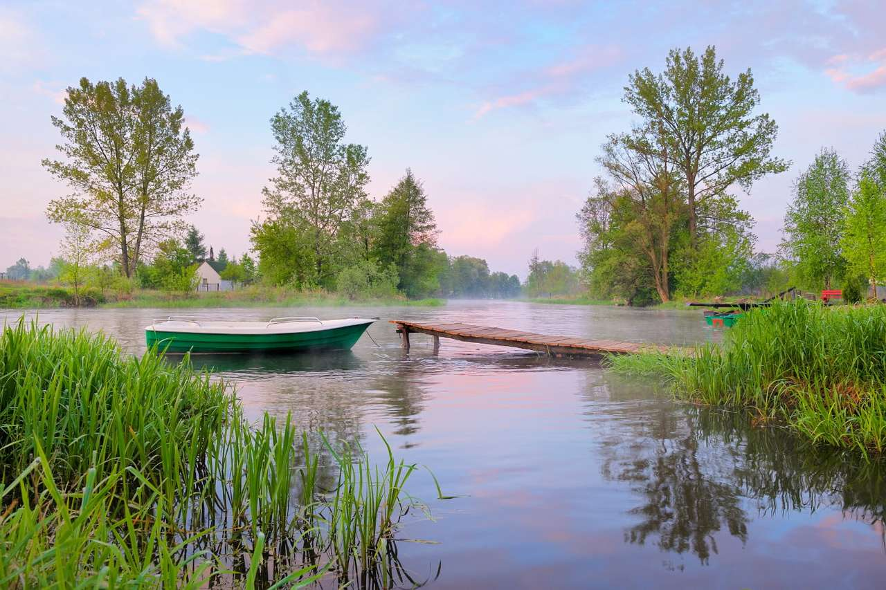 The Narew River Valley (Poland) - The Narew river flows through north-eastern Poland, it is the tributary of the Bug river and it flows into the Vistula river – the largest river of Poland. The Narew National Park was established at (7×5)