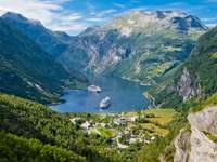 Fiordul Geiranger (Norvegia)