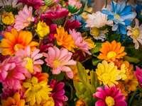 Pamut szövet virágok