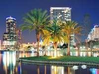 Panorama van Orlando (VS)