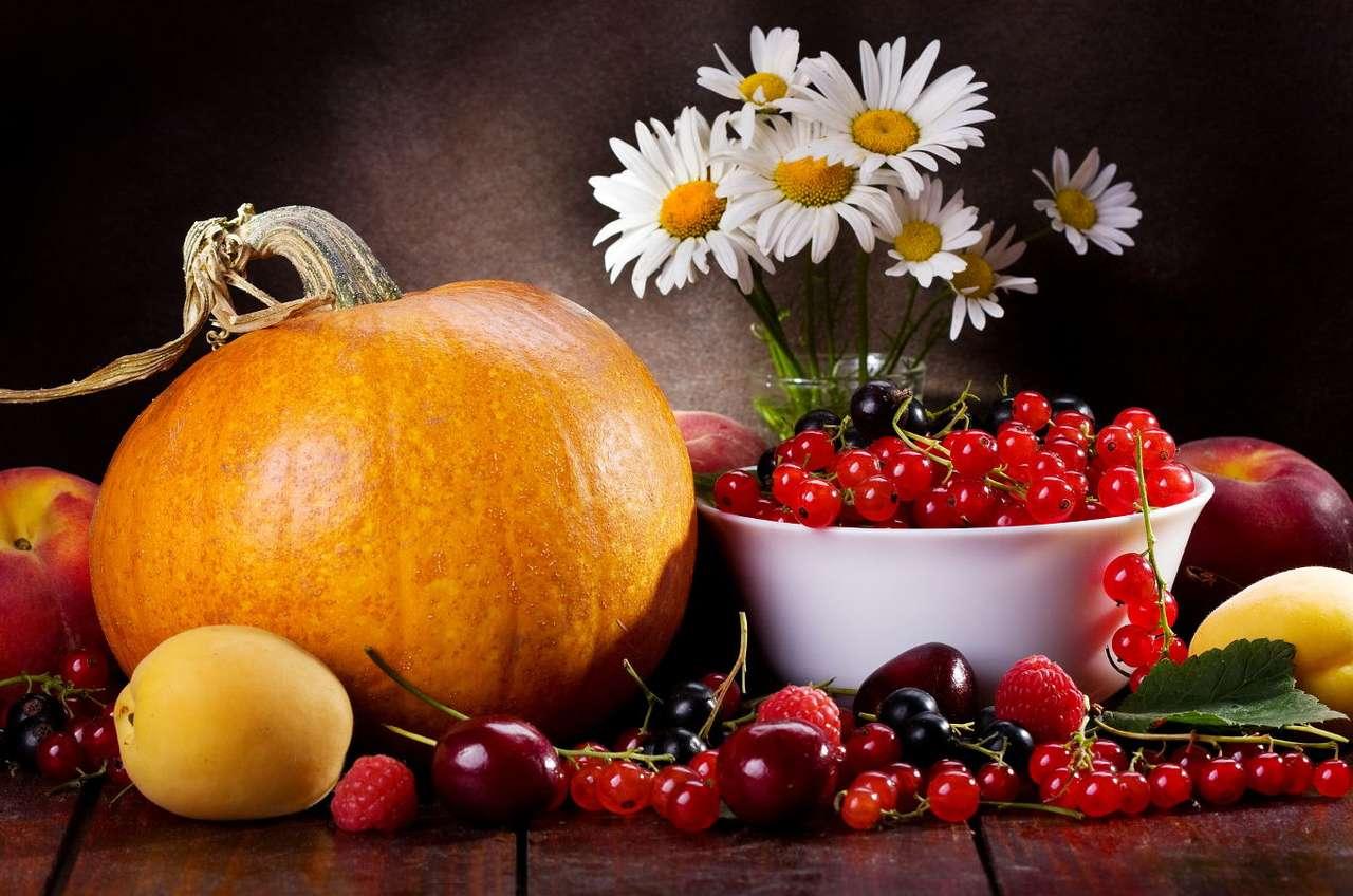 Herfst groenten en fruit