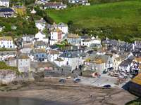 Port Isaac in Cornwall (United Kingdom)
