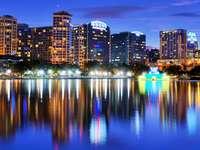 Lake Eola in Orlando (USA)