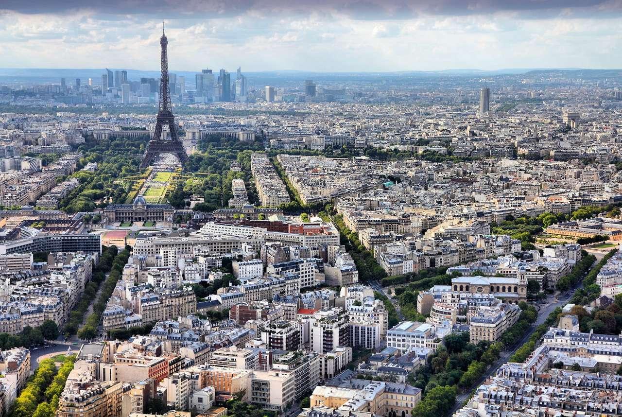 The seventh district of Paris (France)