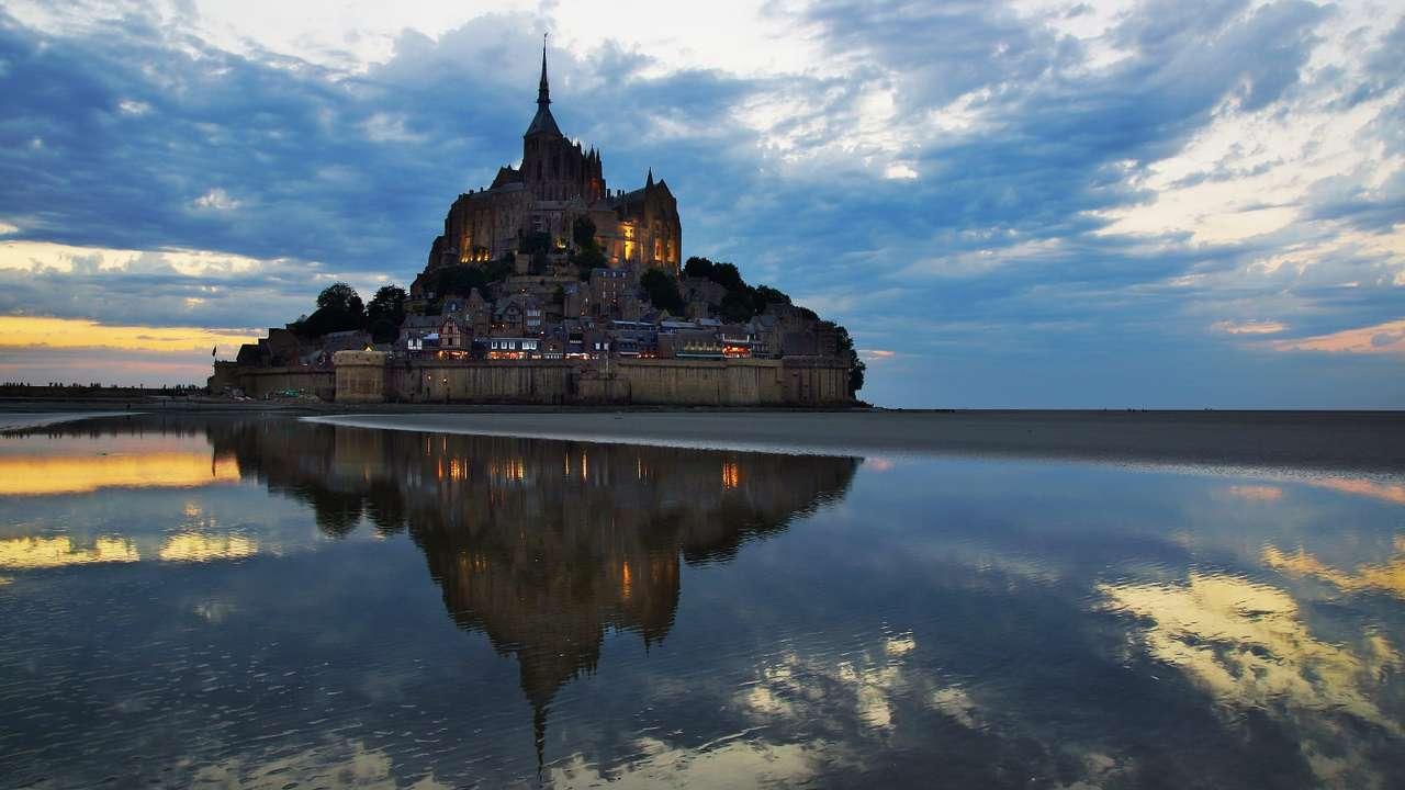 Saint Michael's Mount (France) -  (10×6)