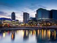 Media City in Salford Quays (United Kingdom)