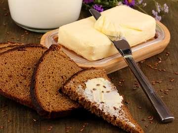 Dark granary bread