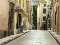 Street in Saint-Tropez (France)
