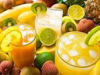Jugos de frutas frescas