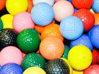 Palline da golf colorate