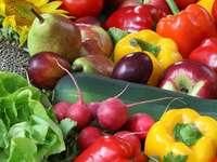 Hoop groenten en fruit
