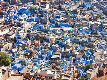 View of Jodhpur (India)