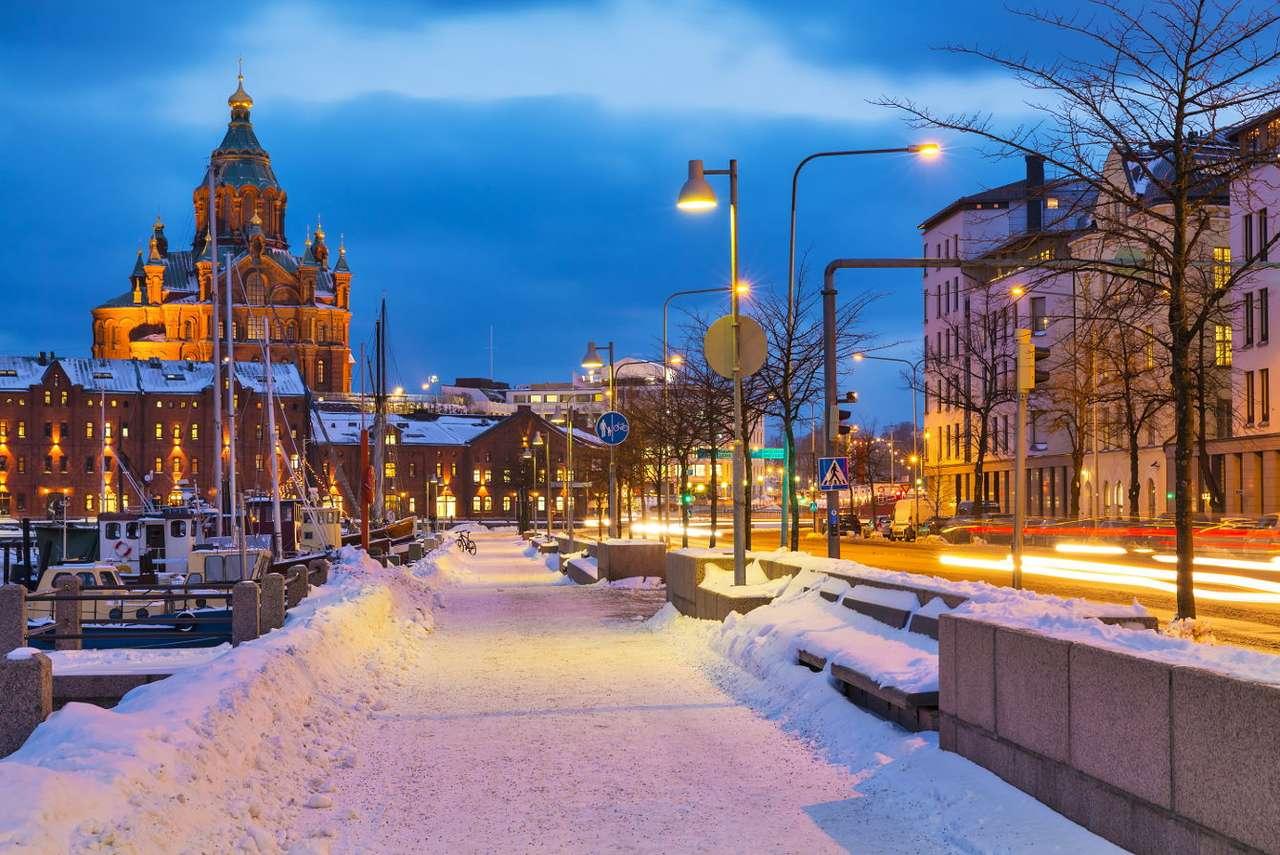 Old Town in Helsinki (Finland)