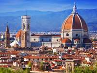 Santa Maria del Fiore Cathedral in Florence (Italy)