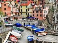 Vissersstadje Manarola (Italië)