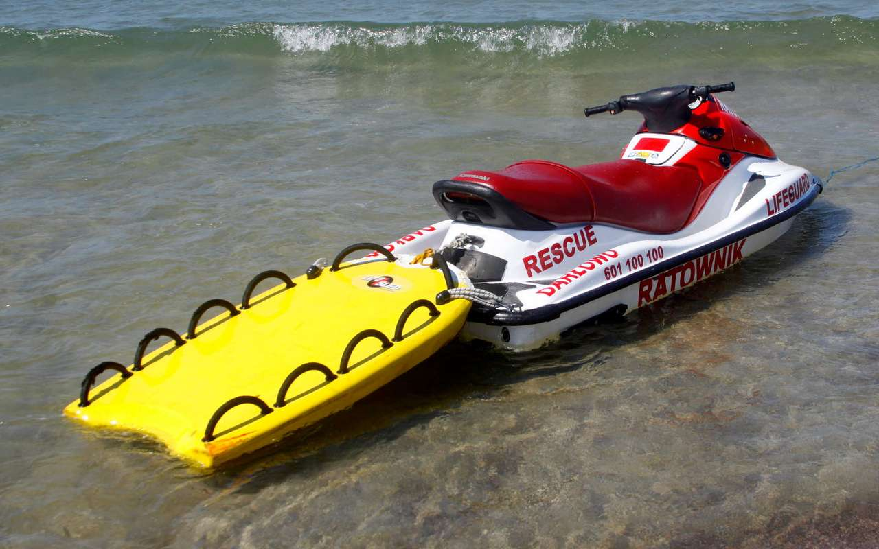 Rescue personal watercraft