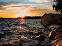 Lac à Småland (Suède)