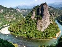 Ziyuan County in the region of Guangxi (China)