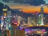 Office buildings in Hong Kong (China)