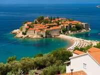 Islet of Sveti Stefan (Montenegro)
