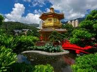 Nan Lian Garden in Hong Kong (China)