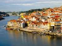 District of Ribeira in Porto (Portugal)