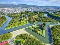 Fortezza di Goryōkaku su Hokkaido (Giappone)
